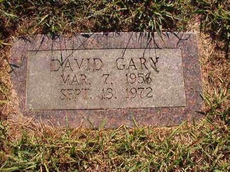 GARY, DAVID - Pulaski County, Arkansas | DAVID GARY - Arkansas Gravestone Photos