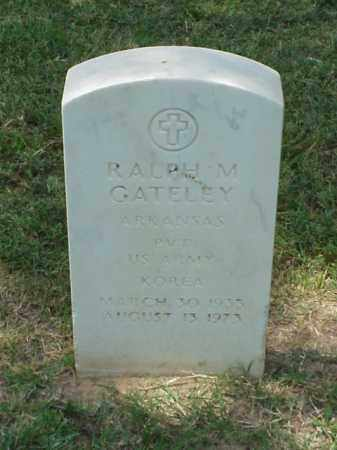 GATELEY (VETERAN KOR), RALPH M - Pulaski County, Arkansas | RALPH M GATELEY (VETERAN KOR) - Arkansas Gravestone Photos