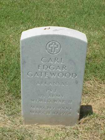 GATEWOOD (VETERAN WWII), CARL EDGAR - Pulaski County, Arkansas | CARL EDGAR GATEWOOD (VETERAN WWII) - Arkansas Gravestone Photos