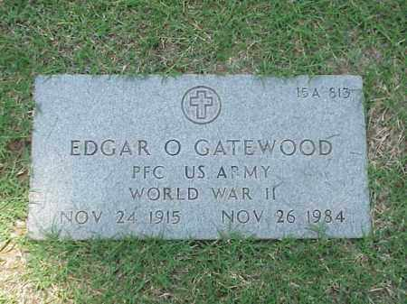 GATEWOOD (VETERAN WWII), EDGAR O - Pulaski County, Arkansas | EDGAR O GATEWOOD (VETERAN WWII) - Arkansas Gravestone Photos