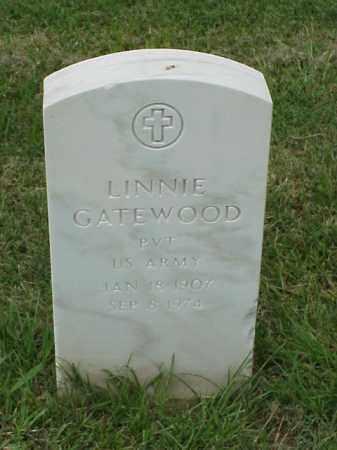 GATEWOOD (VETERAN WWII), LINNIE - Pulaski County, Arkansas | LINNIE GATEWOOD (VETERAN WWII) - Arkansas Gravestone Photos