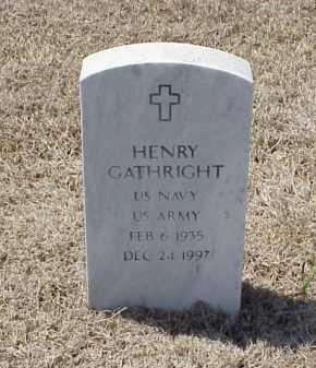 GATHRIGHT (VETERAN), HENRY - Pulaski County, Arkansas | HENRY GATHRIGHT (VETERAN) - Arkansas Gravestone Photos