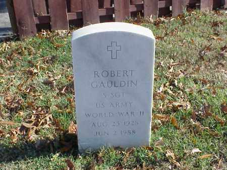 GAULDIN (VETERAN WWII), ROBERT - Pulaski County, Arkansas | ROBERT GAULDIN (VETERAN WWII) - Arkansas Gravestone Photos