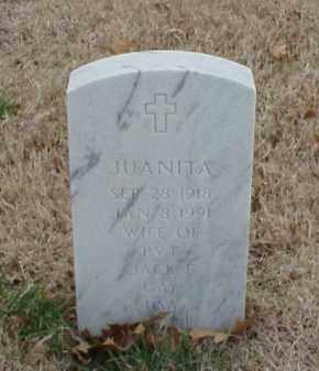 GAY, JUANITA - Pulaski County, Arkansas | JUANITA GAY - Arkansas Gravestone Photos