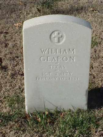 GEARON (VETERAN UNION), WILLIAM - Pulaski County, Arkansas   WILLIAM GEARON (VETERAN UNION) - Arkansas Gravestone Photos