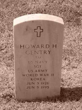 GENTRY (VETERAN 2 WARS), HOWARD H - Pulaski County, Arkansas | HOWARD H GENTRY (VETERAN 2 WARS) - Arkansas Gravestone Photos