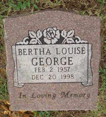 GEORGE, BERTHA LOUISE - Pulaski County, Arkansas | BERTHA LOUISE GEORGE - Arkansas Gravestone Photos