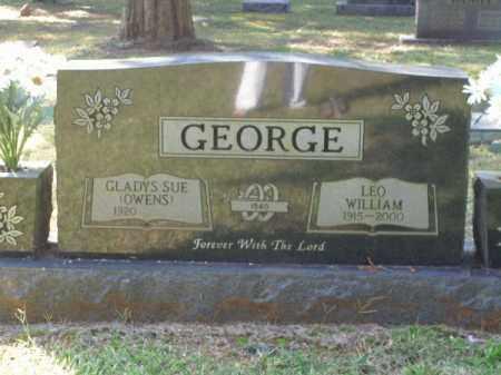 GEORGE, LEO WILLIAM - Pulaski County, Arkansas | LEO WILLIAM GEORGE - Arkansas Gravestone Photos