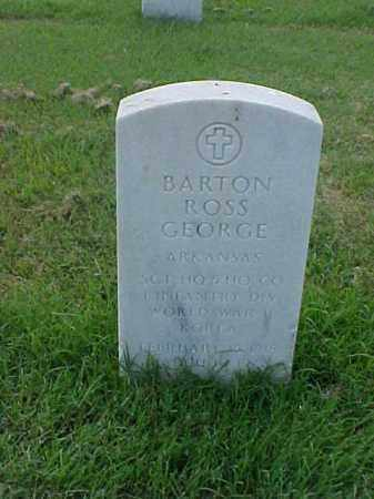 GEORGE (VETERAN 2 WARS), BARTON ROSS - Pulaski County, Arkansas | BARTON ROSS GEORGE (VETERAN 2 WARS) - Arkansas Gravestone Photos