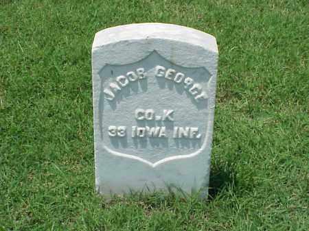 GEORGE (VETERAN UNION), JACOB - Pulaski County, Arkansas | JACOB GEORGE (VETERAN UNION) - Arkansas Gravestone Photos