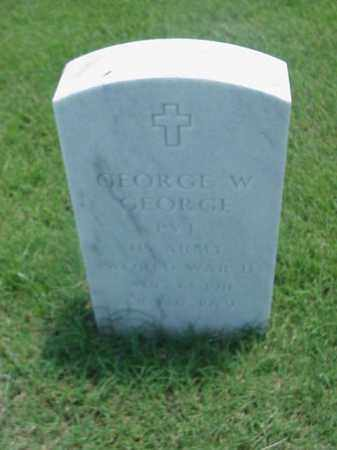GEORGE (VETERAN WWII), GEORGE W - Pulaski County, Arkansas | GEORGE W GEORGE (VETERAN WWII) - Arkansas Gravestone Photos