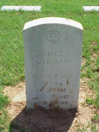 GERMAN (VETERAN 2 WARS), JAMES S - Pulaski County, Arkansas | JAMES S GERMAN (VETERAN 2 WARS) - Arkansas Gravestone Photos