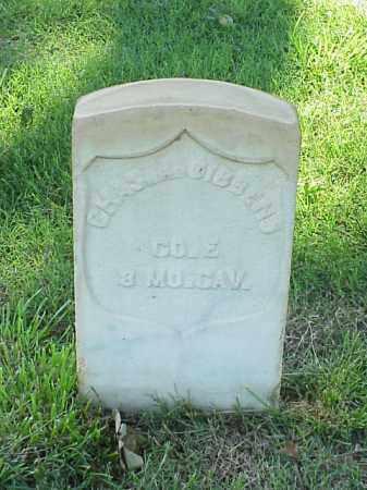 GIBBENS (VETERAN UNION), CHARLES A - Pulaski County, Arkansas | CHARLES A GIBBENS (VETERAN UNION) - Arkansas Gravestone Photos