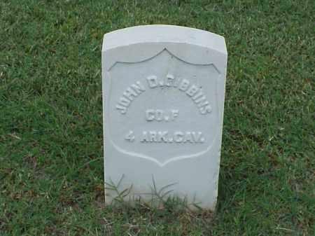GIBBINS (VETERAN UNION), JOHN D - Pulaski County, Arkansas | JOHN D GIBBINS (VETERAN UNION) - Arkansas Gravestone Photos