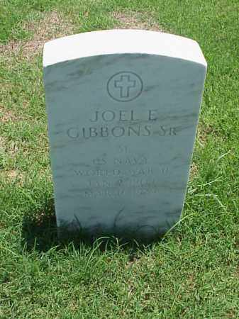 GIBBONS, SR (VETERAN WWII), JOEL L - Pulaski County, Arkansas | JOEL L GIBBONS, SR (VETERAN WWII) - Arkansas Gravestone Photos