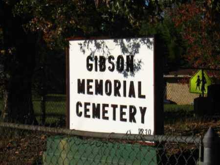 *GIBSON MEMORIAL GATE,  - Pulaski County, Arkansas |  *GIBSON MEMORIAL GATE - Arkansas Gravestone Photos
