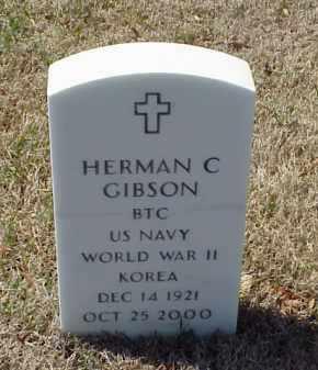 GIBSON (VETERAN 2 WARS), HERMAN C - Pulaski County, Arkansas | HERMAN C GIBSON (VETERAN 2 WARS) - Arkansas Gravestone Photos