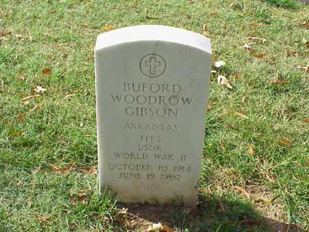 GIBSON (VETERAN WWII), BUFORD WOODROW - Pulaski County, Arkansas | BUFORD WOODROW GIBSON (VETERAN WWII) - Arkansas Gravestone Photos