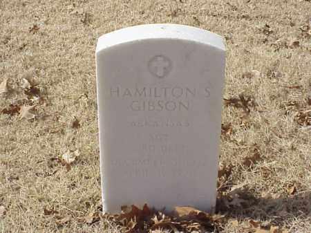 GIBSON (VETERAN WWII), HAMILTON S - Pulaski County, Arkansas | HAMILTON S GIBSON (VETERAN WWII) - Arkansas Gravestone Photos