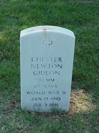 GIDEON (VETERAN WWII), CHESTER NEWTON - Pulaski County, Arkansas | CHESTER NEWTON GIDEON (VETERAN WWII) - Arkansas Gravestone Photos