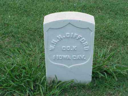 GIFFORD (VETERAN UNION), WILLIAM H H - Pulaski County, Arkansas   WILLIAM H H GIFFORD (VETERAN UNION) - Arkansas Gravestone Photos