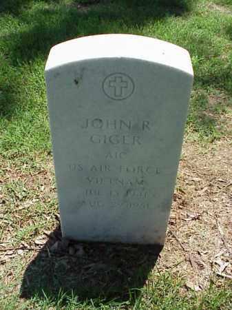 GIGER (VETERAN VIET), JOHN R - Pulaski County, Arkansas   JOHN R GIGER (VETERAN VIET) - Arkansas Gravestone Photos