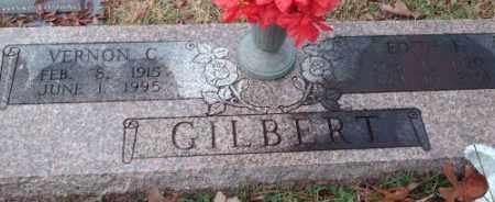 GILBERT, VERNON CARLTON - Pulaski County, Arkansas | VERNON CARLTON GILBERT - Arkansas Gravestone Photos