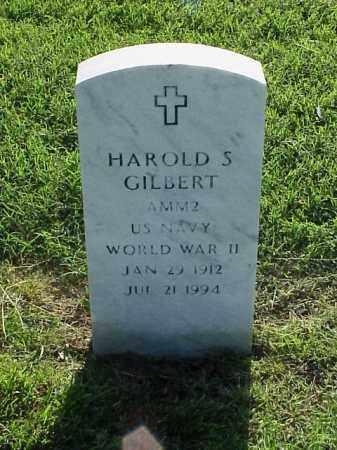 GILBERT (VETERAN WWII), HAROLD S - Pulaski County, Arkansas | HAROLD S GILBERT (VETERAN WWII) - Arkansas Gravestone Photos