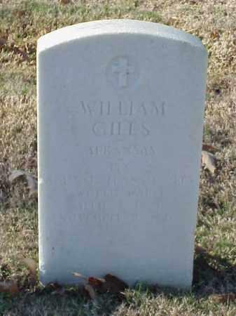 GILES (VETERAN WWI), WILLIAM - Pulaski County, Arkansas   WILLIAM GILES (VETERAN WWI) - Arkansas Gravestone Photos