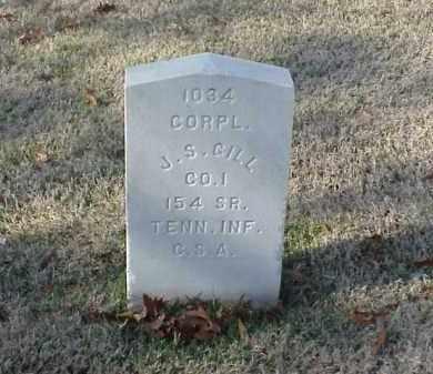GILL (VETERAN CSA), J S - Pulaski County, Arkansas   J S GILL (VETERAN CSA) - Arkansas Gravestone Photos