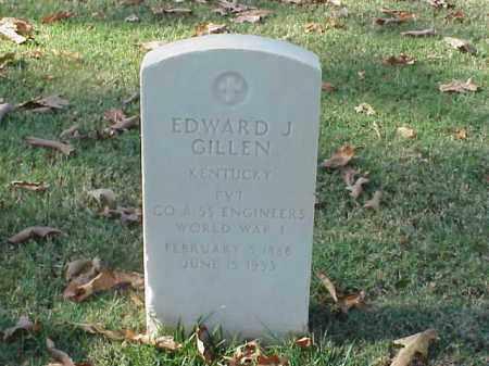 GILLEN (VETERAN WWI), EDWARD J - Pulaski County, Arkansas | EDWARD J GILLEN (VETERAN WWI) - Arkansas Gravestone Photos