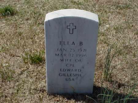 GILLESPIE, ELLA B. - Pulaski County, Arkansas   ELLA B. GILLESPIE - Arkansas Gravestone Photos