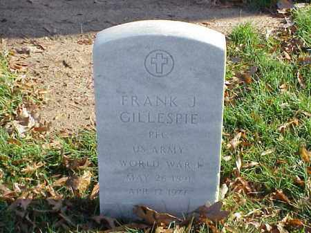 GILLESPIE (VETERAN WWII), FRANK J - Pulaski County, Arkansas | FRANK J GILLESPIE (VETERAN WWII) - Arkansas Gravestone Photos