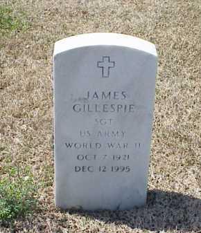 GILLESPIE (VETERAN WWII), JAMES - Pulaski County, Arkansas   JAMES GILLESPIE (VETERAN WWII) - Arkansas Gravestone Photos
