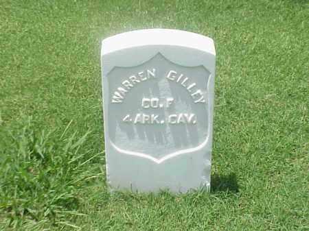 GILLEY (VETERAN UNION), WARREN - Pulaski County, Arkansas | WARREN GILLEY (VETERAN UNION) - Arkansas Gravestone Photos