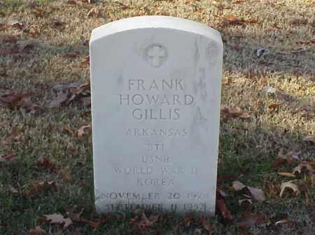 GILLIS  (VETERAN 2 WARS), FRANK HOWARD - Pulaski County, Arkansas   FRANK HOWARD GILLIS  (VETERAN 2 WARS) - Arkansas Gravestone Photos