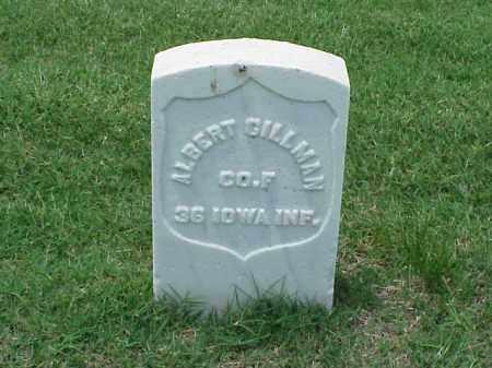 GILLMAN (VETERAN UNION), ALBERT - Pulaski County, Arkansas   ALBERT GILLMAN (VETERAN UNION) - Arkansas Gravestone Photos