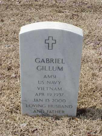 GILLUM  (VETERAN VIET), GABRIEL - Pulaski County, Arkansas | GABRIEL GILLUM  (VETERAN VIET) - Arkansas Gravestone Photos
