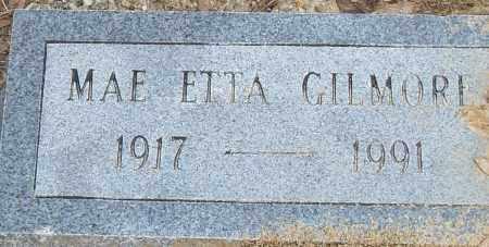GILMORE, MAE ETTA - Pulaski County, Arkansas   MAE ETTA GILMORE - Arkansas Gravestone Photos