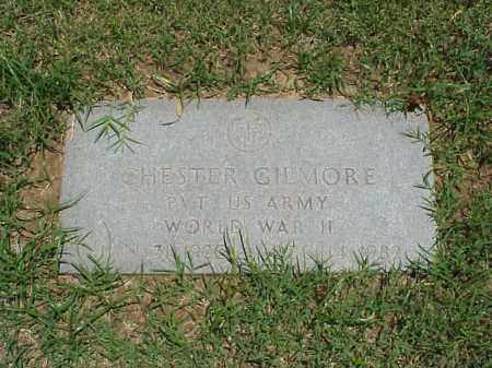 GILMORE (VETERAN WWII), CHESTER - Pulaski County, Arkansas | CHESTER GILMORE (VETERAN WWII) - Arkansas Gravestone Photos