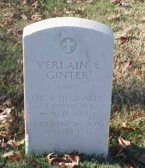 GINTER  (VETERAN WWI), VERLAIN E - Pulaski County, Arkansas | VERLAIN E GINTER  (VETERAN WWI) - Arkansas Gravestone Photos
