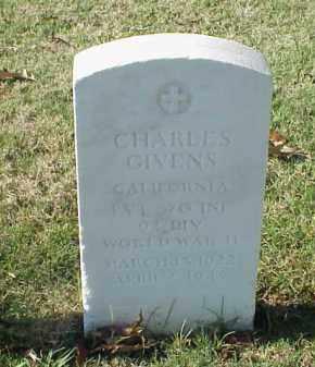 GIVENS  (VETERAN WWII), CHARLES - Pulaski County, Arkansas | CHARLES GIVENS  (VETERAN WWII) - Arkansas Gravestone Photos