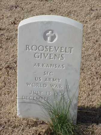 GIVENS  (VETERAN WWII), ROOSEVELT - Pulaski County, Arkansas | ROOSEVELT GIVENS  (VETERAN WWII) - Arkansas Gravestone Photos