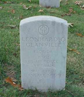 GLANVILLE  (VETERAN VIET), LEONHARD O - Pulaski County, Arkansas   LEONHARD O GLANVILLE  (VETERAN VIET) - Arkansas Gravestone Photos