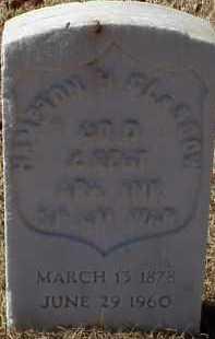 GLASGOW  (VETERAN SAW), HAMPTON H - Pulaski County, Arkansas   HAMPTON H GLASGOW  (VETERAN SAW) - Arkansas Gravestone Photos