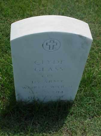 GLASS (VETERAN WWII), CLYDE - Pulaski County, Arkansas | CLYDE GLASS (VETERAN WWII) - Arkansas Gravestone Photos