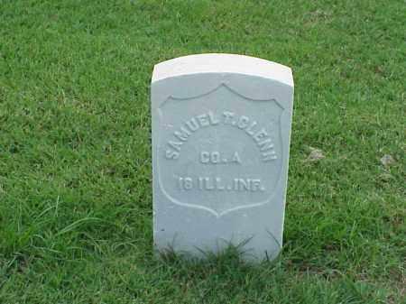 GLENN (VETERAN UNION), SAMUEL T - Pulaski County, Arkansas   SAMUEL T GLENN (VETERAN UNION) - Arkansas Gravestone Photos