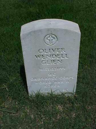 GLIEN (VETERAN 2 WARS), OLIVER WENDELL - Pulaski County, Arkansas | OLIVER WENDELL GLIEN (VETERAN 2 WARS) - Arkansas Gravestone Photos
