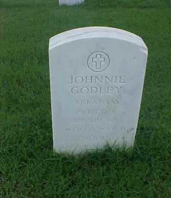 GODLEY (VETERAN WWII), JOHNNIE - Pulaski County, Arkansas   JOHNNIE GODLEY (VETERAN WWII) - Arkansas Gravestone Photos