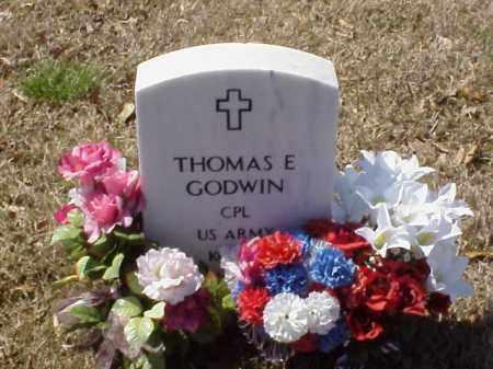 GODWIN  (VETERAN KOR), THOMAS E - Pulaski County, Arkansas   THOMAS E GODWIN  (VETERAN KOR) - Arkansas Gravestone Photos